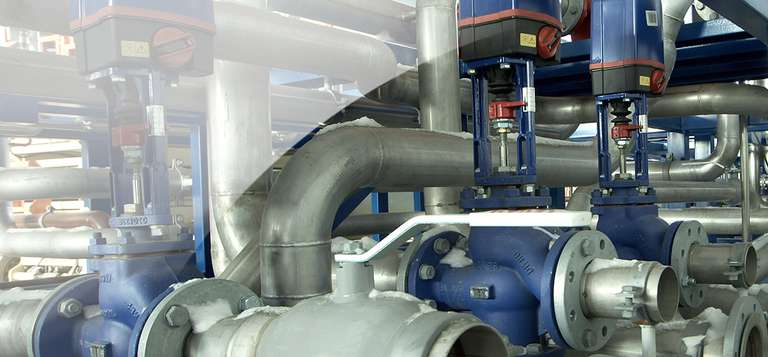 Banner Shut-off valve