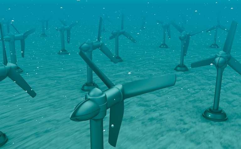 Gleitringdichtungen unter Wasser