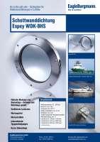 Prospekt Espey WDK-BHS Schottwanddichtung/ Leaflet Espey WDK-BHS bulkhead seal